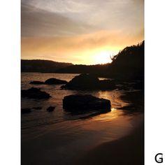 Nascer do Sol - Praia Ferradura. - Búzios - Férias 2015 - http://instagram.com/gigibrazil4/