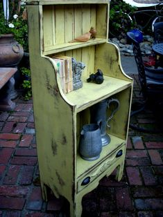 Rustic Home Decor - Distressed Furniture - Wooden Shelf - Bookcase - Farmhouse Chic - Shabby Furniture - Tall x Wide x Deep Primitive Furniture, Country Furniture, Handmade Furniture, Repurposed Furniture, Shabby Chic Furniture, Farmhouse Furniture, Primitive Cabinets, Vintage Furniture, Library Furniture