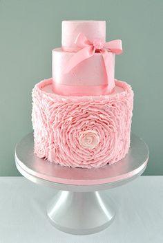 The Sugar Nursery's Ruffle Rose Cake