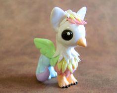 Pastel Rainbow Gryphon by *DragonsAndBeasties on deviantART