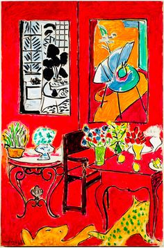 Henri Matisse - Large Red Interior (1948)
