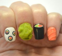 Nails, the Final Frontier: Sushi