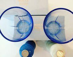 Kaarinan pappilan uusi lasisto ja myllystö Paraisilta. Lasisto sopii hyvin Kaarinan Piispanpäiville, #Suomi100 juhlavuonna. #KostaBoda #LeCreuset #Kelovee #Parainen #design