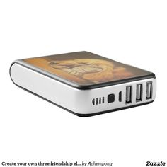 Create your own three friendship electronic DIY #Power #Bank #Amazing #Stuff, #beautiful stuffs #products #sold on #Zazzle