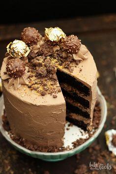 Ferrero Rocher Torte | Bake to the roots