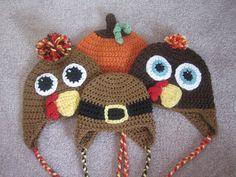 A Chick w/ Sticks: Crochet Hats