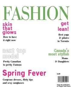 magazine cover layout template - Google Search