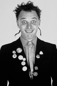 In pictures: Rik Mayall's comedy characters