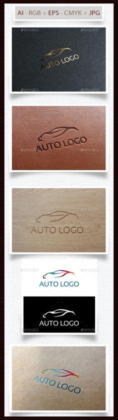 Sport Auto Logo — Transparent PNG #automobile #silhouette • Available here → https://graphicriver.net/item/sport-auto-logo/9154114?ref=pxcr
