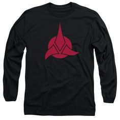 """Checkout our #LicensedGear products FREE SHIPPING + 10% OFF Coupon Code """"Official"""" Star Trek / Klingon Logo - Long Sleeve Adult 18 / 1 - Star Trek / Klingon Logo - Long Sleeve Adult 18 / 1 - Price: $29.99. Buy now at https://officiallylicensedgear.com/star-trek-klingon-logo-long-sleeve-adult-18-1"""