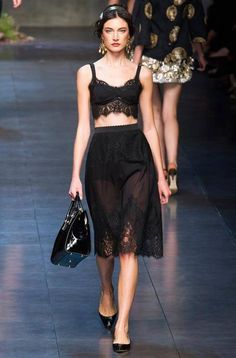 DOLCE and GABBANA SPRING/SUMMER 2014