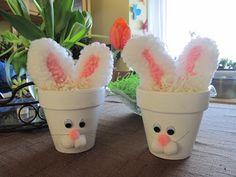 bunny pots