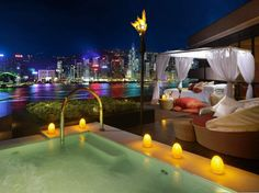 The Terrace Suite at the InterContinental Hong Kong