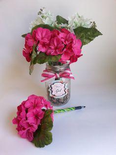 Personalized Flower Pen Bouquet .r. by GarageGirl1905 on Etsy, $22.00