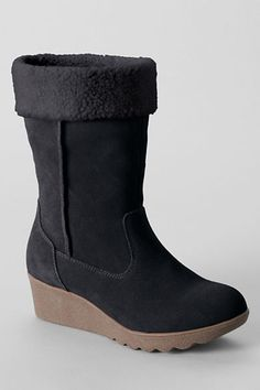Women's Chalet Short Boots from Lands' End