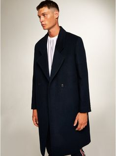 bfef99ff 8 Best Men's navy coat images | Clothes for men, Man style, Male style