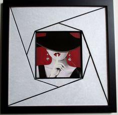 Scrapbook Templates, Frame It, Painting Techniques, Shadow Box, Picture Frames, Decoration, Cross Stitch, Romantic, Quilts