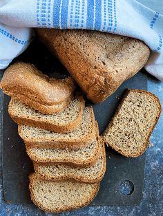 Bread Machine Rye Bread Recipe, Rye Bread Recipes, Hearty Bread Recipe, Caraway Seeds, Vegan Bread, Vegan Vegetarian, Hot Chocolate, Bakery, Breads