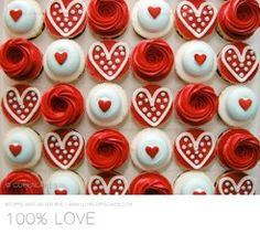 100% Love cuppacakes