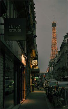 Midnight Stroll- Paris