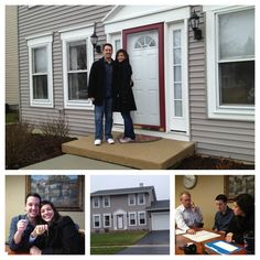 Congratulations Chris and Eve on your new house!    Jan 11, 2013