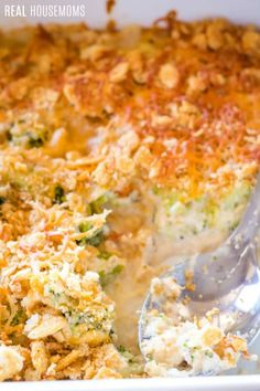 My Simple Broccoli Casserole Recipe is made with fresh broccoli in a luscious cheese sauce. Your family is sure to ask for it over and over again! Fresh Broccoli Casserole, Broccoli Cheese Casserole Easy, Cream Of Broccoli Soup, Easy Casserole Recipes, Brocolli Cheese Recipes, Frozen Broccoli Recipes, Broccoli Dishes, Veggie Dishes, Side Dishes
