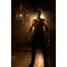 Tony Stark Iron Man The Avengers ❤ liked on Polyvore featuring marvel, avengers, fandom and robert downey jr
