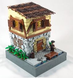 LEGO MOC of the Week - House on the Pier