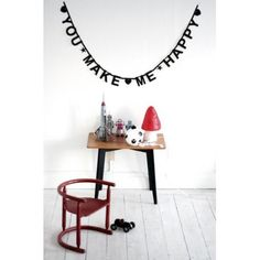 Jut en Juul Lifestyle for Kids : Wordbanner - Letterslinger  - karton