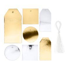 IKEA - VINTER 2015, Label, set of 42