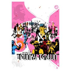 Welcome to funky town ( illustration poster offset print limited ...