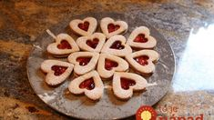Sweets for your sweetheart! Raspberry and White Chocolate shortbread cookies Chocolate Shortbread Cookies, Linzer Cookies, Sugar Cookies, Sour Cream, Recipes Using Cooked Chicken, Cooking With Beer, White Chocolate Raspberry, Cut Out Cookies, Shaped Cookie