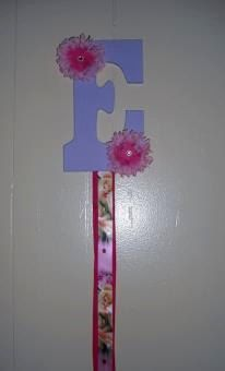 BOW HOLDERS by MyLilGirlsBoutique on Etsy, $15.99