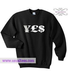 Money Symbol Sweatshirt