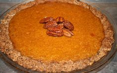 Looks like the best Paleo Pumpkin Pie recipe....I've got to try this!