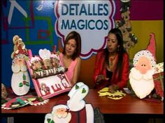 Mimi Luna Con MarbeManualidades creando Galleta Genjibre en Foami Navidad 01 - YouTube