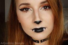 Cute Bat Halloween Makeup