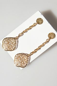 Elegant Cutout Drop Earrings OASAP.com