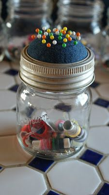 Off the Grid at -30: Frugal Tuesday - Keeping Busy and Saving Money, Sewing Jars