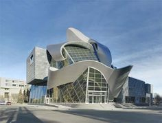 Designed by Randall Stout Architects, the new Art Gallery of Alberta is an engaging and inviting visual arts center in downtown Edmonton, Alberta. It is opened to the public since 2010.
