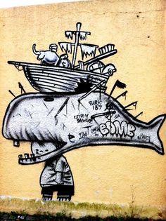 Street art - David Choe