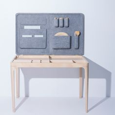 Lilla Table Multifunctional Table by Jessica Herrera