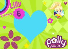 Polly Pocket Invite #pollypocket #birthday