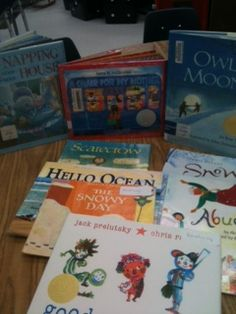 Books to Teach Visualizing - Comprehension Strategy