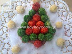 ΧΡΙΣΤΟΥΓΕΝΝΙΑΤΙΚΑ ΦΟΝΤΑΝ ΜΕ ΖΑΧΑΡΟΥΧΟ & ΙΝΔΟΚΑΡΥΔΟ – Koykoycook Strawberry, Fruit, Food, Essen, Strawberry Fruit, Strawberries, Yemek, Meals