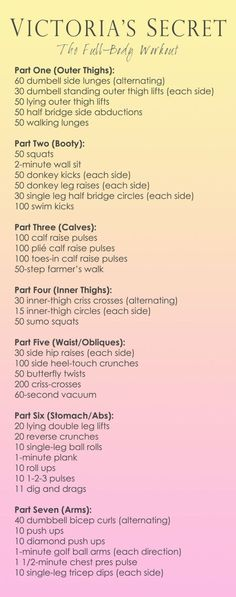 Victoria's Secret Workout Full-Body. yes, a workout plan w/o jumping jacks! Victoria's Secret Workout Full-Body. yes, a workout plan w/o jumping jacks! Yoga Fitness, Fitness Workouts, Workout Hiit, At Home Workouts, Health Fitness, Workout Watch, Physical Fitness, Workout Exercises, Model Workout
