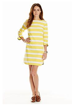 c4bb2b9f9646 crown & ivy™ Stripe Dolphin Hem Knit Dress Crown And Ivy, Cute Summer  Dresses