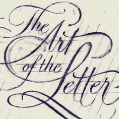 the art of the letter from the case & point