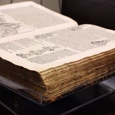 Nuremberg Chronicle, the oldest book in the collection-1493! Special Collections, Stony Brook University Libraries. #seawolvesread #specialcollections #oldbooks #stonybrook #stonybrooku #rarebooks