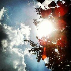 #sun #sky #instagramers #instagramhub #instadaily #instagood #summer #sunshine #clouds #photo #nature - @jayhpho- #webstagram